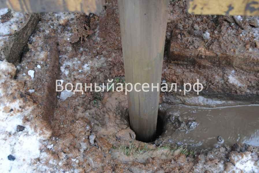Бурение скважины в Можайском районе, коттеджный посёлок Захарьино-3 фото 4
