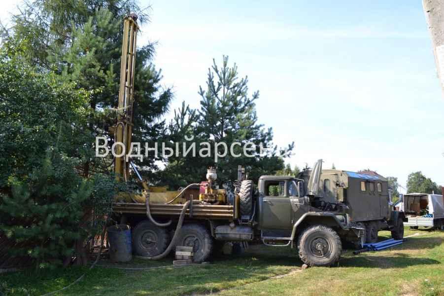 Бурение скважины в Раменском районе, деревня Осеченки фото 2