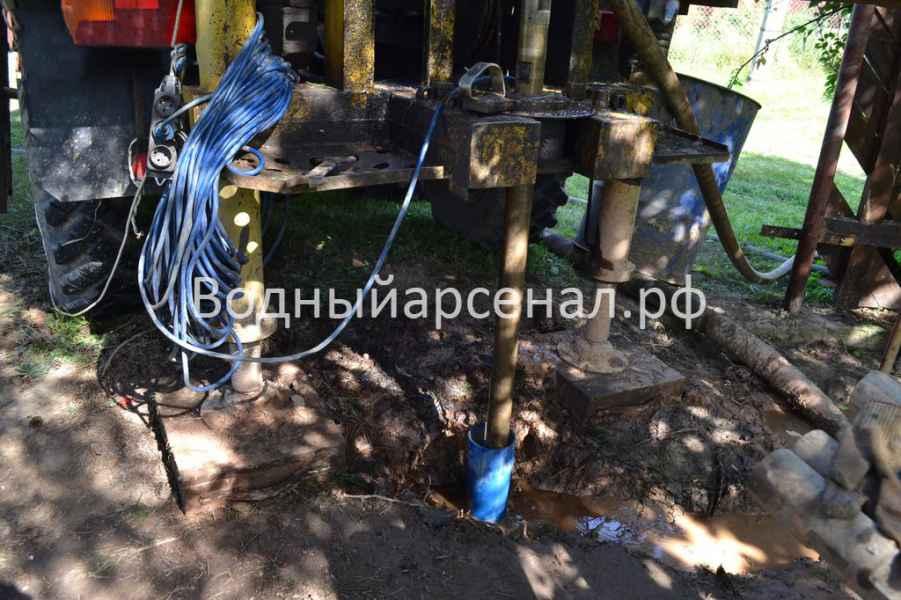 Бурение скважины в Раменском районе, деревня Осеченки фото 4