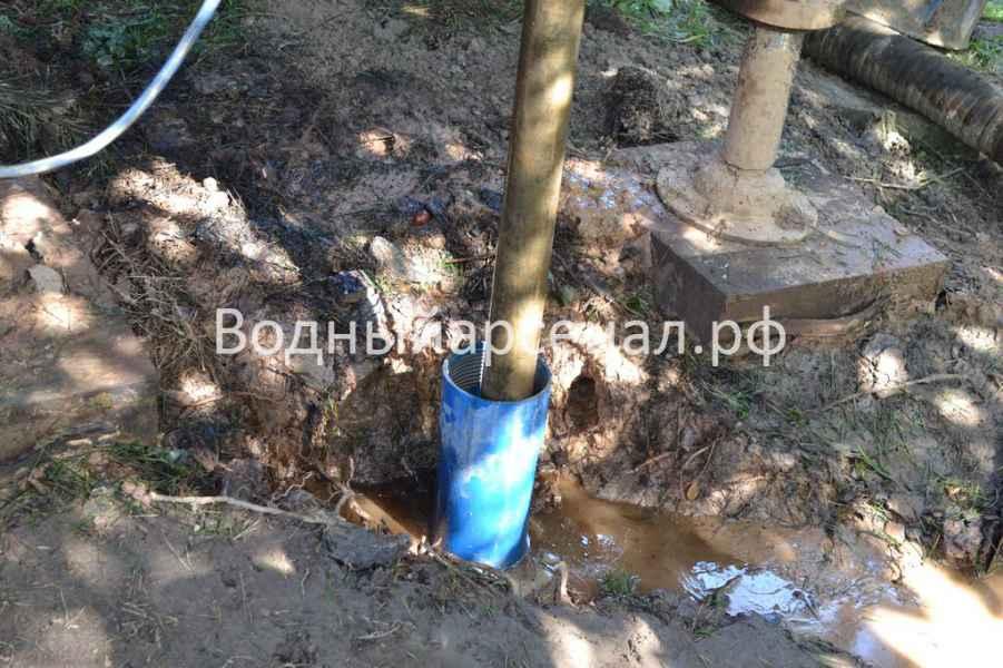 Бурение скважины в Раменском районе, деревня Осеченки фото 5