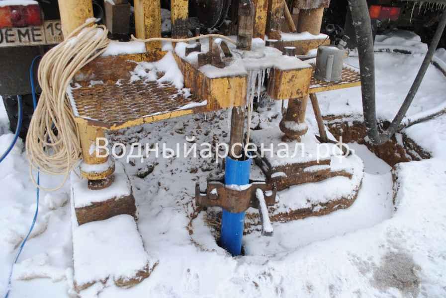 Бурение скважины в Дмитровском районе, садовые участки Дмитроград фото 3