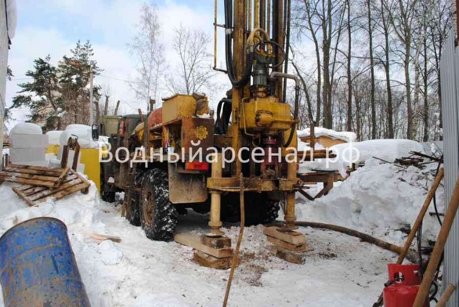 Бурение скважины в Одинцовском районе, поселок Баковка фото 3