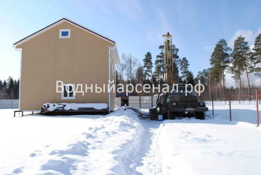 Бурение скважины в Талдомском районе, деревня Воргаш фото 1
