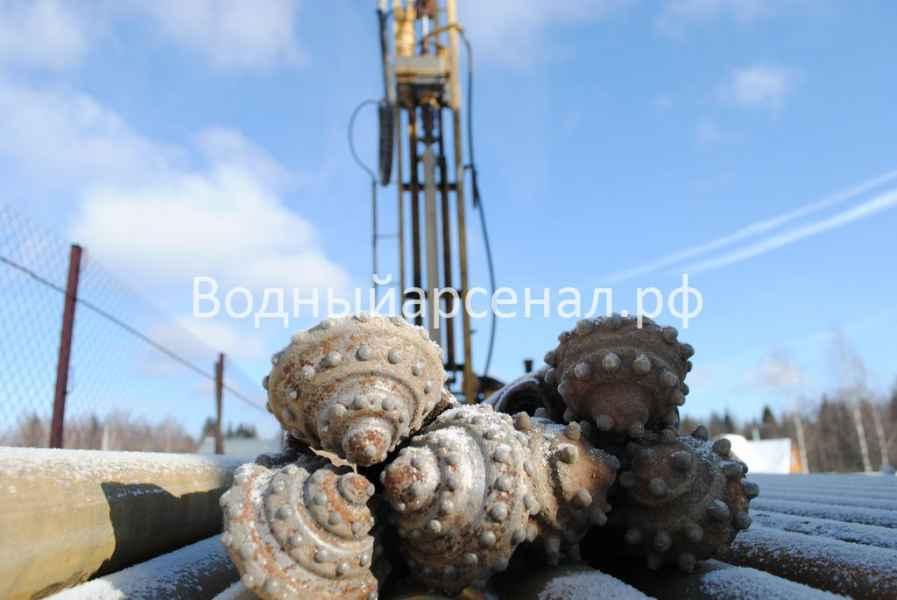 Бурение скважины в Талдомском районе, деревня Воргаш фото 2