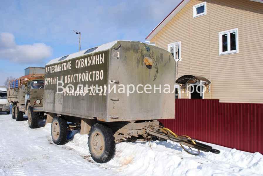 Бурение скважины в Талдомском районе, деревня Воргаш фото 4