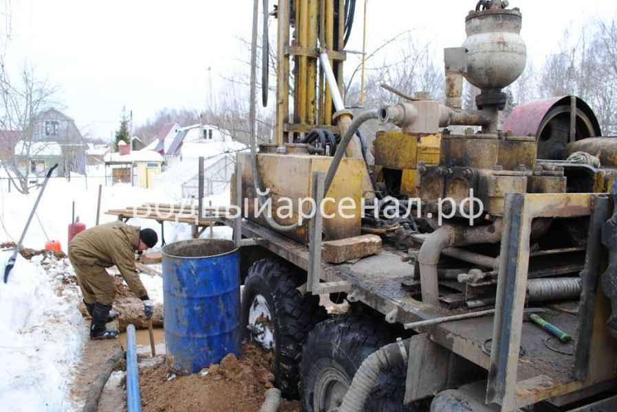 Бурение скважины в Дмитровском районе, СНТ Строитель-2 фото 3