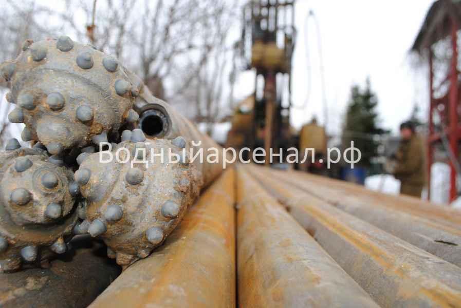 Бурение скважины в Дмитровском районе, СНТ Строитель-2 фото 1=6