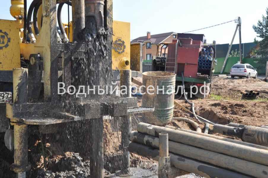 Бурение скважины в Солнечногорском районе, деревня Юрлово фото 5