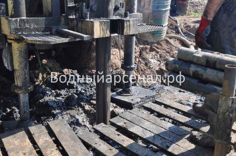 Бурение скважины в Солнечногорском районе, деревня Юрлово фото 4