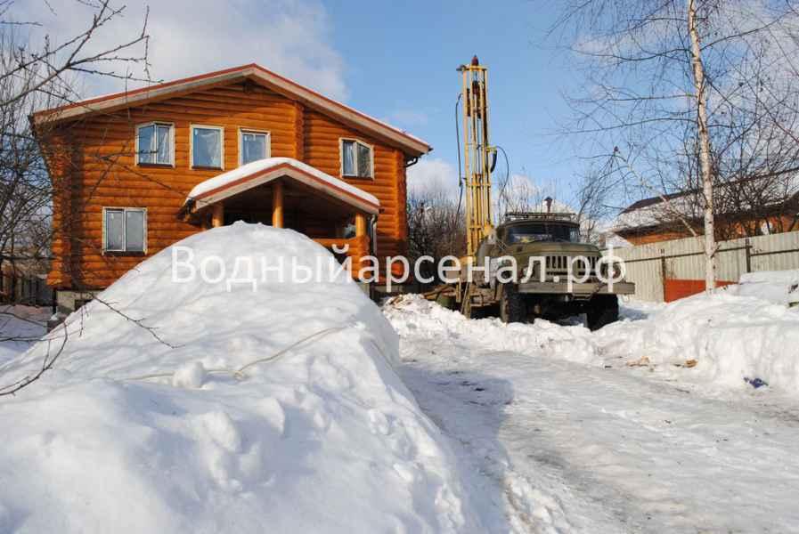 Бурение скважины в Мытищинском районе, СТ Борисовка фото 1