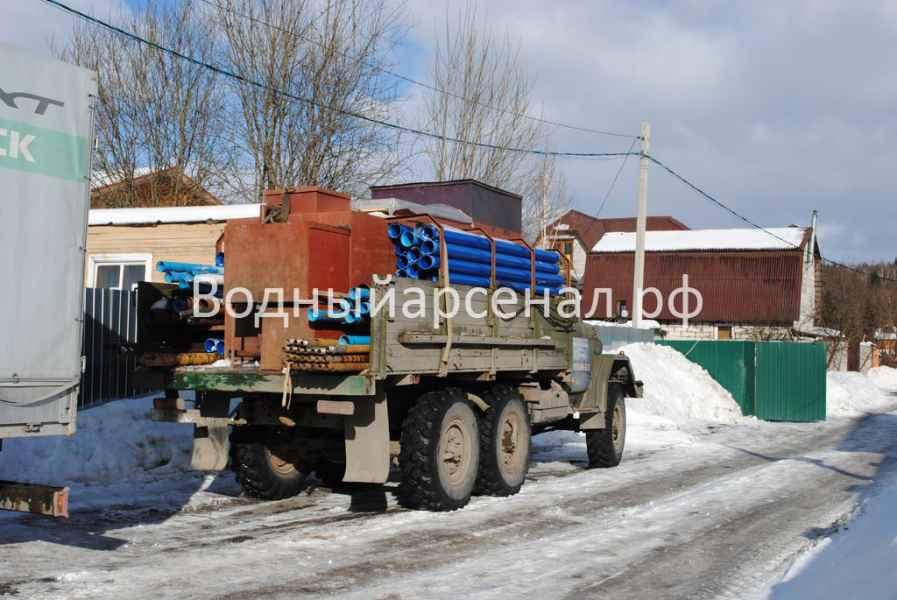 Бурение скважины в Мытищинском районе, СТ Борисовка фото 10