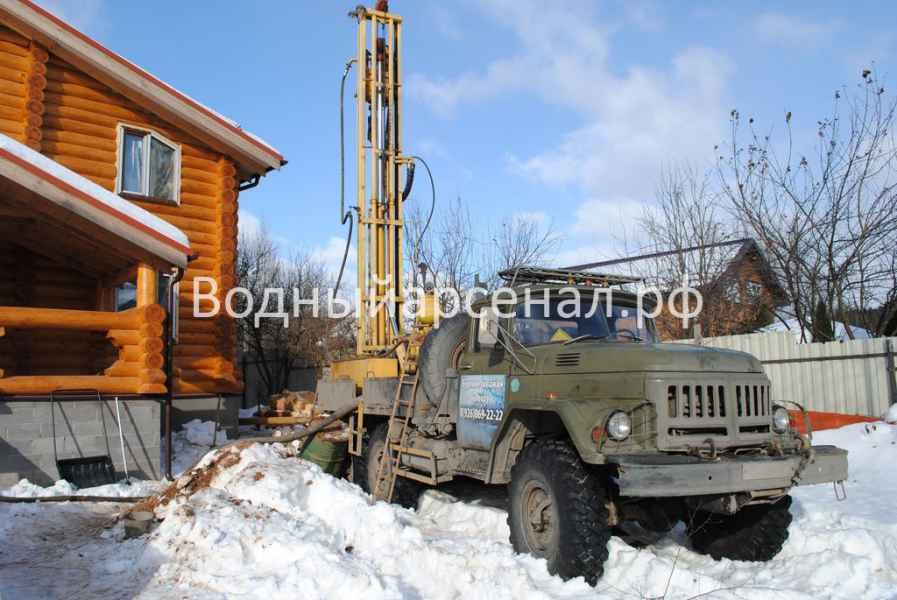 Бурение скважины в Мытищинском районе, СТ Борисовка фото 2