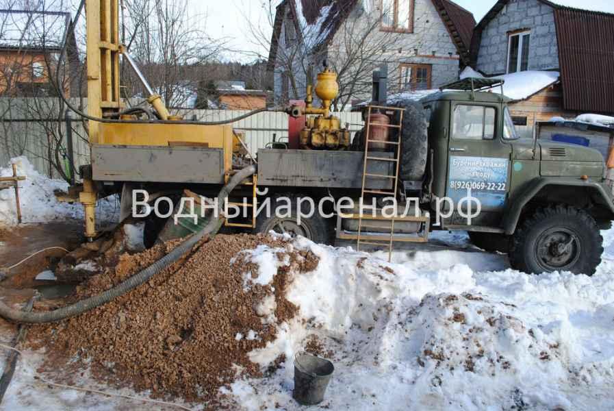 Бурение скважины в Мытищинском районе, СТ Борисовка фото 3