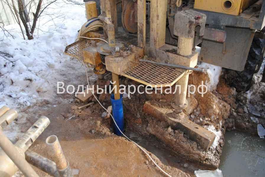 Бурение скважины в Мытищинском районе, СТ Борисовка фото 4