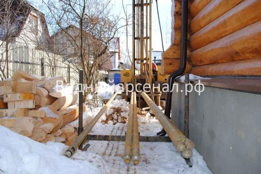 Бурение скважины в Мытищинском районе, СТ Борисовка фото 5
