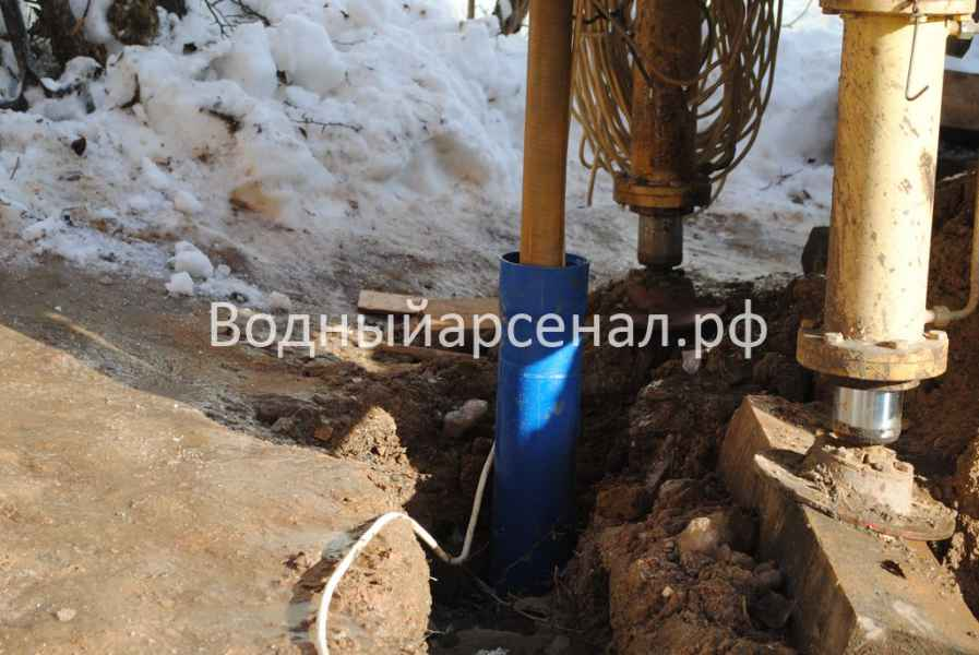 Бурение скважины в Мытищинском районе, СТ Борисовка фото 7