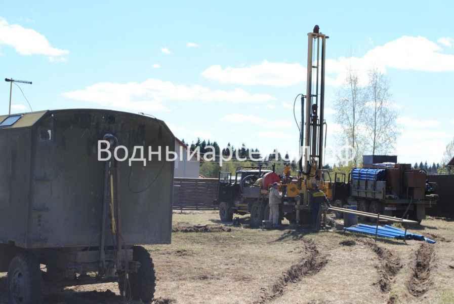 Бурение скважины в Дмитровском районе, Яхрома фото 1