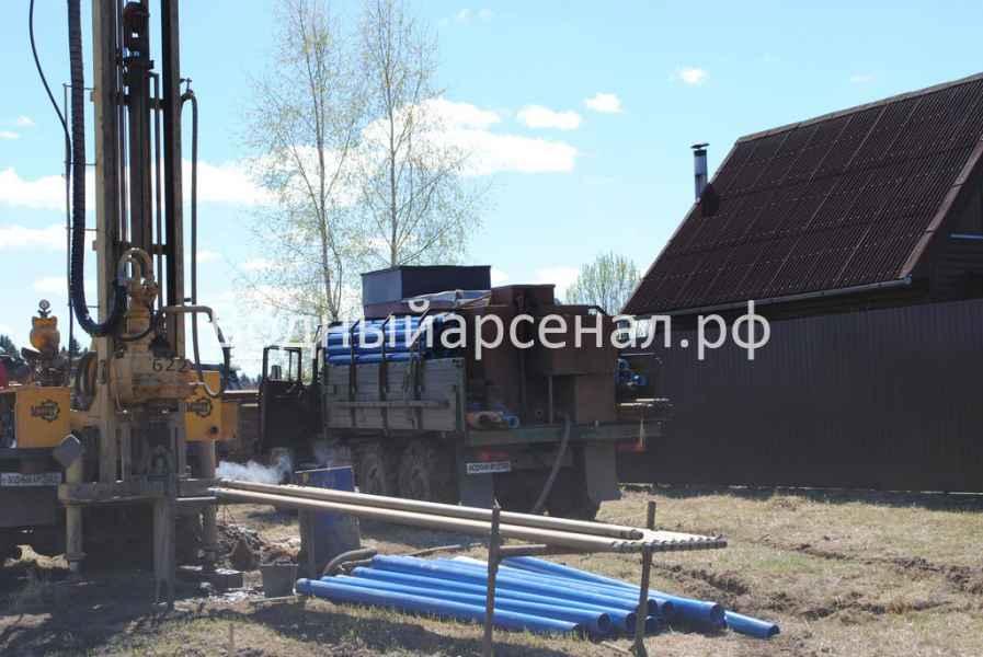 Бурение скважины в Дмитровском районе, Яхрома фото 3