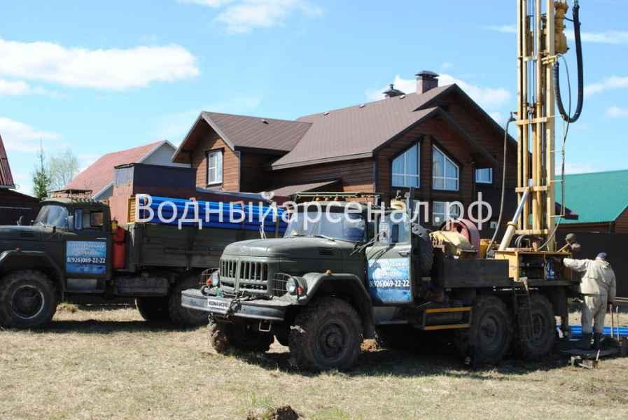 Бурение скважины в Дмитровском районе, Яхрома фото 5