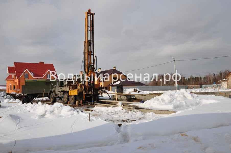 Бурение скважины в Пушкинском районе, микрорайон Мамонтовка фото 1