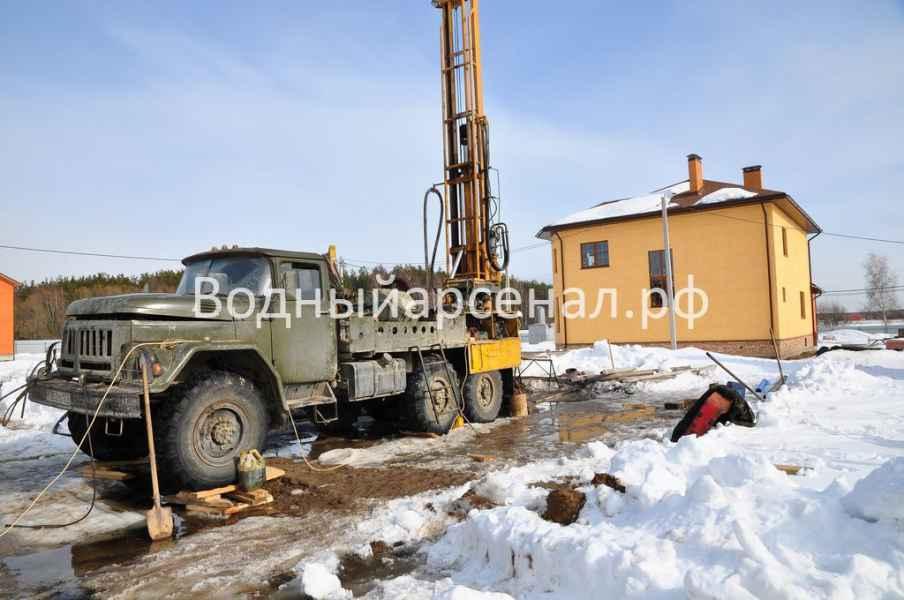 Бурение скважины в Пушкинском районе, микрорайон Мамонтовка фото 2