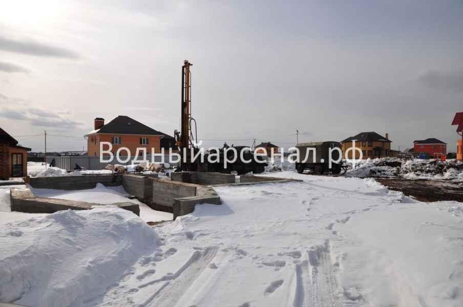 Бурение скважины в Пушкинском районе, микрорайон Мамонтовка фото 3