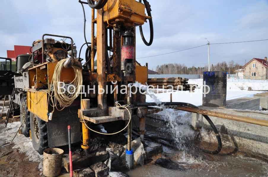 Бурение скважины в Пушкинском районе, микрорайон Мамонтовка фото 5