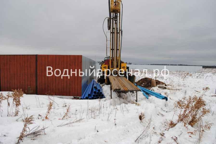 Бурение скважины в Киржачском районе, деревня Аленино фото 6
