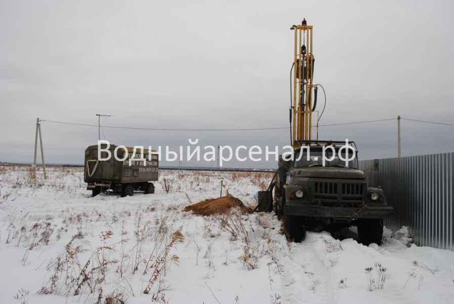 Бурение скважины в Киржачском районе, деревня Аленино фото 5