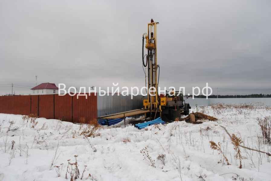 Бурение скважины в Киржачском районе, деревня Аленино фото 4