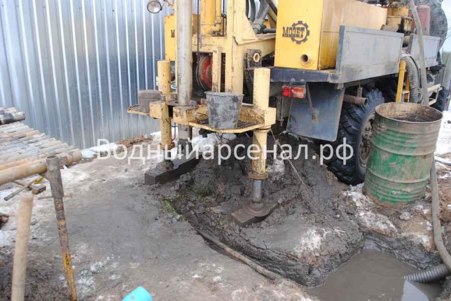 Бурение скважины в Киржачском районе, деревня Аленино фото 2