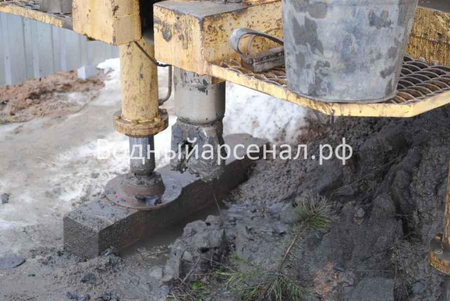 Бурение скважины в Киржачском районе, деревня Аленино фото 1