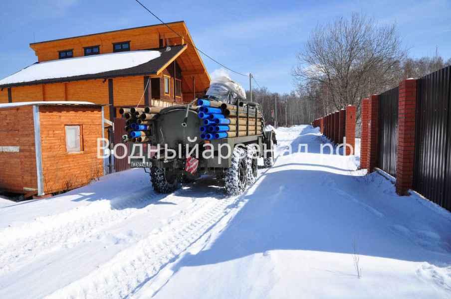 Бурение скважины в Солнечногорском районе, Чашниково фото 3