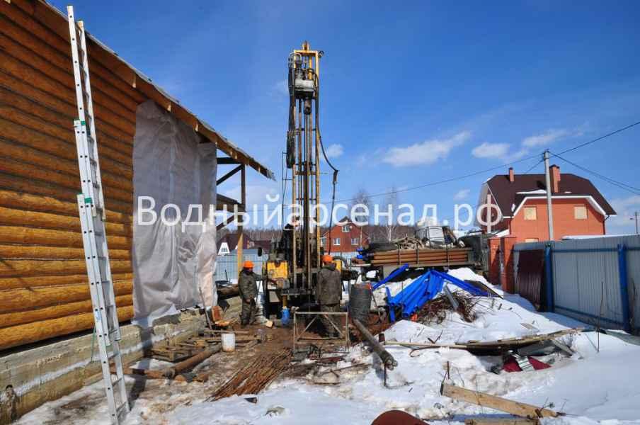 Бурение скважины в Солнечногорском районе, Чашниково фото 1