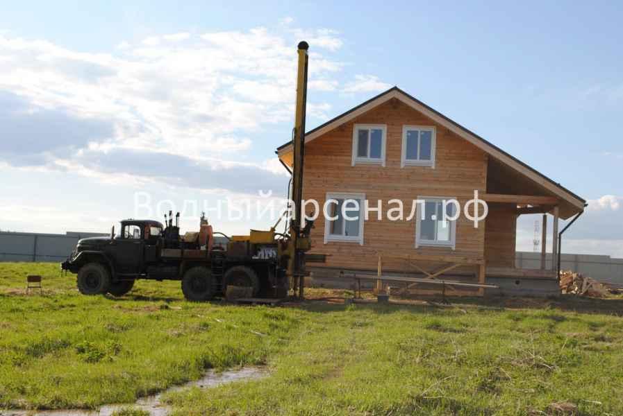 Бурение скважины в Сергиево-Посадском районе, Яковлево фото 1