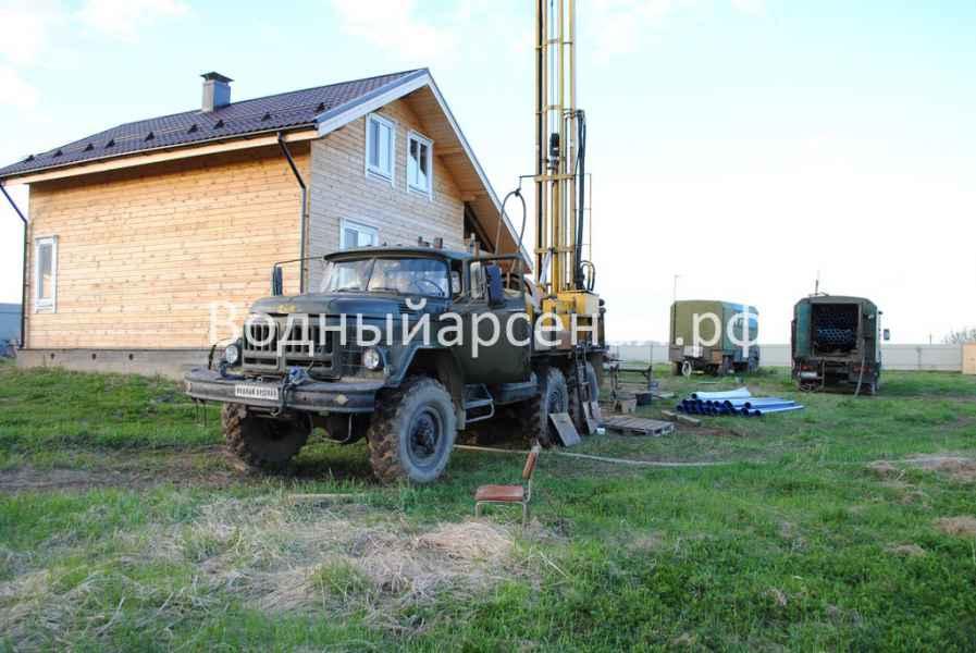 Бурение скважины в Сергиево-Посадском районе, Яковлево фото 4