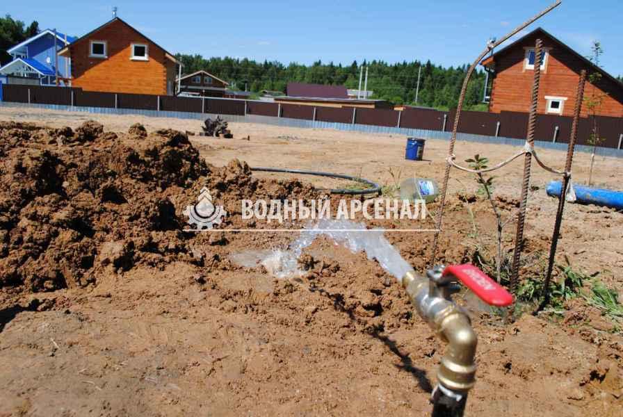 Фото бурения скважины на воду в Дмитровском районе, КП Дмитровка светлая