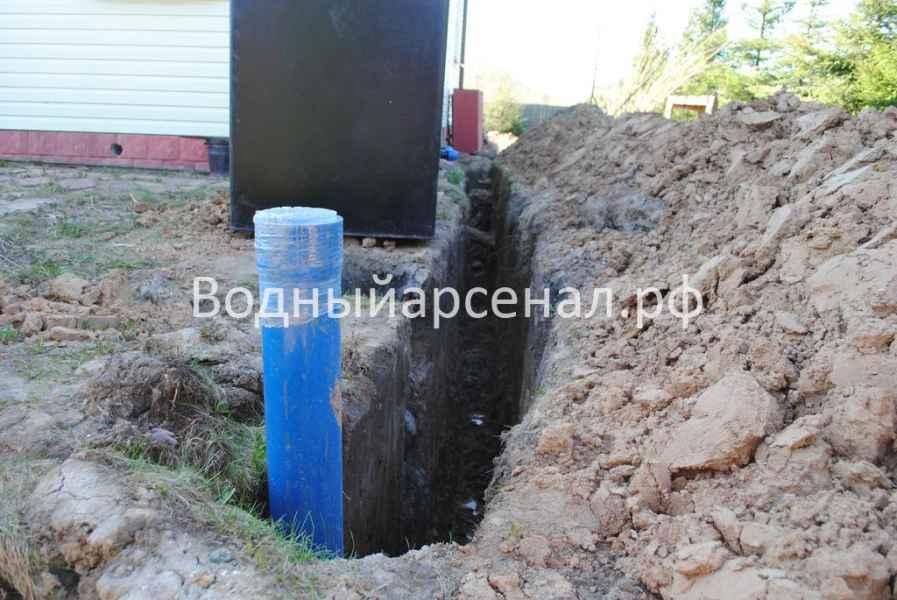 Фото бурения скважины на воду в Сергиево-Посадском районе, деревня Новинки